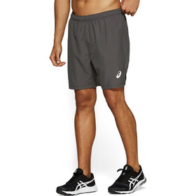 "asics Silver 7"" Shorts Men dark grey"